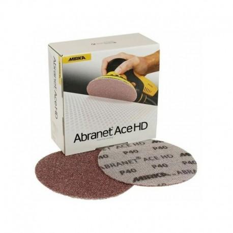 Disques abrasifs auto-agrippants Abranet Ace HD Ø 125 mm MIRKA