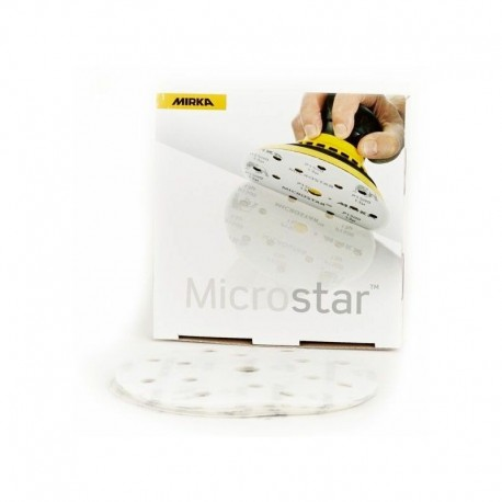 Disques abrasifs Mirka Microstar 15 trous Ø 150 mm