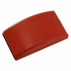 Cale caoutchouc rouge 70x125mm 8390100111