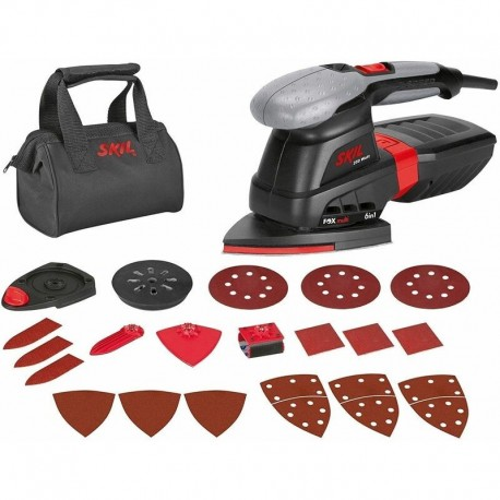 Ponceuse Multifonction (FOX 6in1) Skil 7226 AC + 20 accessoires