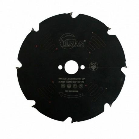 LAME DIAMANT 160x20x8Z Plate / Matériaux abrasifs, ciment composites