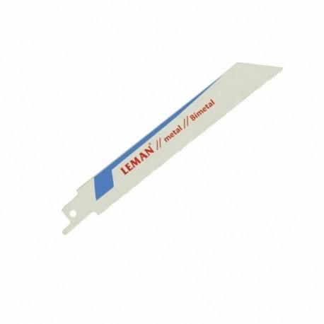 2 Lames de scie sabre 130mm Métal / Tubes & Profilés Alu